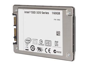 """Intel 320 Series SSDSA1NW160G301 1.8"""" 160GB SATA II MLC Internal Solid State Drive (SSD) - OEM"""