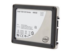 """Intel 520 Series Cherryville SSDSC2CW480A310 2.5"""" 480GB SATA III MLC Internal Solid State Drive (SSD) - OEM"""