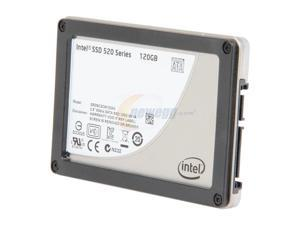 """Intel 520 Series Cherryville SSDSC2CW120A310 2.5"""" 120GB SATA III MLC Internal Solid State Drive (SSD) - OEM"""