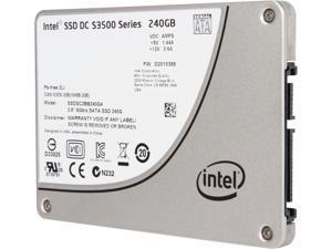 """Intel DC S3500  Series 2.5"""" 240GB SATA III MLC Internal Solid State Drive (SSD) SSDSC2BB240G401"""