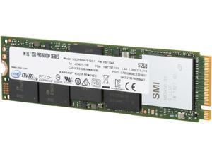 Intel SSD Pro 6000p Series (512GB, M.2 80mm PCIe 3.0 x4, 3D1, TLC) Reseller Single Pack