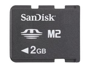 SanDisk 2GB Memory Stick Micro (M2) Flash Card Model SDMSM22048A11M