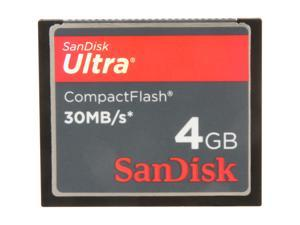 SanDisk Ultra 4GB Compact Flash (CF) Flash Card Model SDCFH-004G-A11