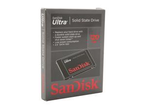 "SanDisk Ultra SDSSDH-120G-G25 2.5"" 120GB SATA II Internal Solid State Drive (SSD)"
