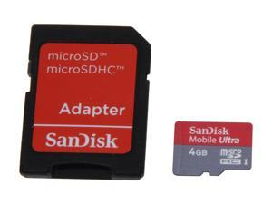 SanDisk Mobile Ultra 4GB Micro SDHC Flash Card