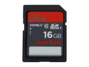 SanDisk Ultra 16GB Secure Digital High-Capacity (SDHC) Flash Card Model SDSDU-016G-A11