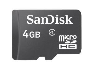 SanDisk 4GB microSDHC Flash Card