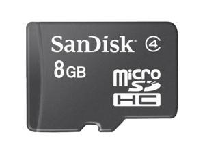 SanDisk 8GB microSDHC Flash Card