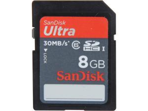 SanDisk Ultra 8GB Secure Digital High-Capacity (SDHC) Flash Card