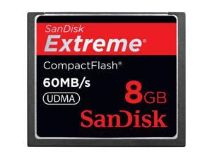 SanDisk Extreme 8 GB CompactFlash (CF) Card - 1 Card