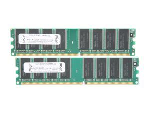 PNY OPTIMA 2GB (2 x 1GB) DDR 400 (PC 3200) Desktop Memory