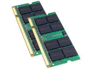 PNY 2GB (2 x 1GB) 200-Pin SO-DIMM DDR2 667 (PC2 5300) Laptop Memory