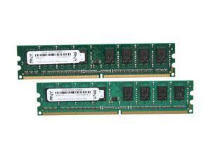 PNY Optima 4GB (2 x 2GB) 240-Pin DDR2 SDRAM DDR2 800 (PC2 6400) Desktop Memory