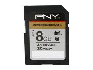 PNY Professional Series 8GB Secure Digital High-Capacity (SDHC) Flash Card