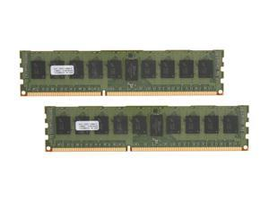 PNY 8GB (2 x 4GB) 240-Pin DDR3 SDRAM ECC Registered DDR3 1333 (PC3 10600) Server Memory Model MD8192KD3-1333-ECC
