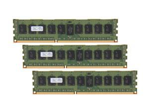 PNY 12GB (3 x 4GB) 240-Pin DDR3 SDRAM ECC Registered DDR3 1333 Server Memory Model MD12288KD3-1333-ECC