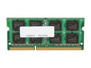 PNY 4GB 204-Pin DDR3 SO-DIMM DDR3 1333 (PC3 10666) Laptop Memory Model MN4096SD3-1333
