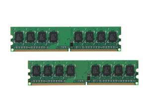 PNY 4GB (2 x 2GB) 240-Pin DDR2 SDRAM DDR2 800 (PC2 6400) Desktop Memory