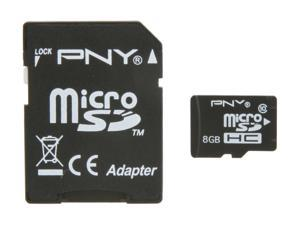 PNY 8GB microSDHC Flash Card