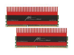 PNY XLR8 8GB (2 x 4GB) 240-Pin DDR3 SDRAM DDR3 2133 (PC3 17000) Desktop Memory Model MD8192KD3-2133-X10