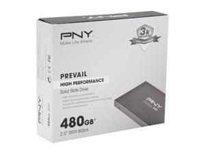 "PNY Prevail SSD9SC480GCDA-PB 2.5"" 480GB SATA III Internal Solid State Drive (SSD)"