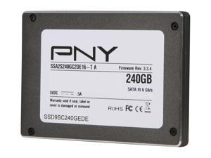 PNY Prevail 240GB Solid State Disk SSD9SC240GEDE-PB