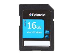 PNY Polaroid 16GB Secure Digital High-Capacity (SDHC) Flash Card Model P-SDHC16G10-EFPOL