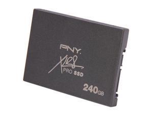 """PNY XLR8 PRO SSD9SC240GCDA-RB 2.5"""" 240GB SATA III Internal Solid State Drive (SSD)"""