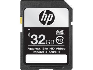 HP 32GB Secure Digital High-Capacity (SDHC) Flash Card Model CG790A-EF