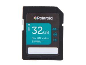 PNY Polaroid 32GB Secure Digital High-Capacity (SDHC) Flash Card Model P-SDH32U1-30-GEPOL