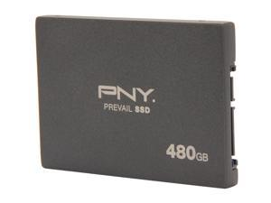 "PNY Prevail Elite SSD9SC480GEDA-PB 2.5"" Internal Solid State Drive (SSD) 10K Endurance"