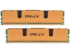 PNY 8GB (2 x 4GB) 240-Pin DDR3 SDRAM DDR3 1333 (PC3 10666) Desktop Memory Model MD8192KD3-1333-V2