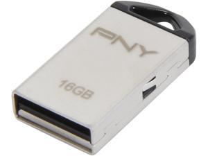 PNY 16GB Metal USB 2.0 Flash Drive - OEM