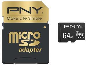 PNY 64GB Flash Memory Flash Card Model SDU64G10ELIPER-EF