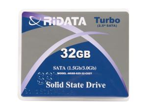 "RiDATA Turbo NSSD-S25-32-CO2T 2.5"" SLC Internal Solid State Drive (SSD) - OEM"