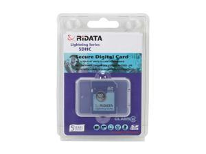 RiDATA Lightning Series 32GB Secure Digital High-Capacity (SDHC) Flash Card Model RDSDHC32G-LIG6