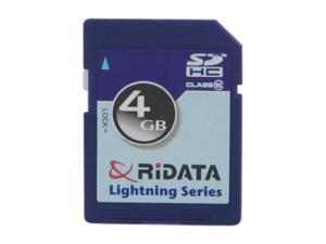 RiDATA 4GB Secure Digital High-Capacity (SDHC) Flash Card