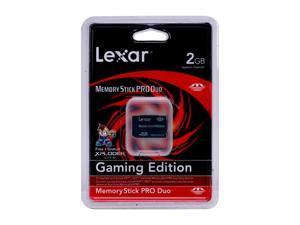 Lexar Gaming 2GB Memory Stick Pro Duo (MS Pro Duo) Flash Card Model MSDP2GB-40-658