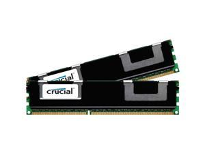 Crucial 8GB (2 x 4GB) 240-Pin DDR2 SDRAM Server Memory Model CT2KIT51272BB1067Q