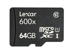 Lexar High Performance 64GB microSDHC Flash Card