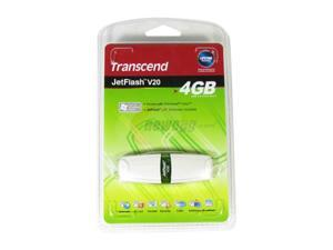 Transcend JetFlash V20 4GB Flash Drive (USB2.0 Portable)