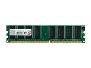 Transcend 1GB 184-Pin DDR SDRAM DDR 400 (PC 3200) Desktop Memory
