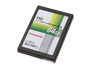 """Transcend TS64GSSD25S-M 2.5"""" 64GB SATA MLC Internal Solid State Drive (SSD)"""