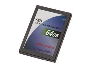 """Transcend TS64GSSD25S-S 2.5"""" 64GB SATA Internal Solid State Drive (SSD)"""