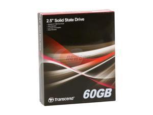 """Transcend TS60GSSD25D-M 2.5"""" 60GB SATA II MLC Internal Solid State Drive (SSD)"""