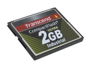 Transcend 2GB Compact Flash (CF) Flash Card Model TS2GCF100I