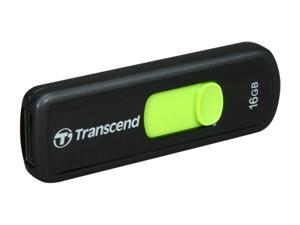 Transcend JetFlash 500 16GB USB 2.0 Flash Drive (Green) Model TS16GJF500