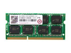 Transcend 4GB 204-Pin DDR3 SO-DIMM DDR3 1333 Laptop Memory