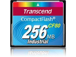 Transcend 256MB Compact Flash (CF) Flash Card Model TS256MCF80