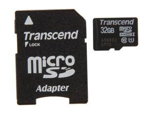 Transcend 32GB microSDHC Flash Card with Adapter